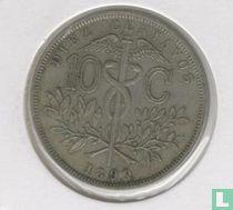 Bolivia 10 centavos 1899