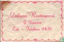 """Calluna"" Restaurant"