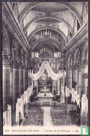 Boulogne-sur-Mer, Intérieur de la Basilique