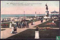 Boulogne-sur-Mer, La Terrasse du Boulevard Ste-Beuve