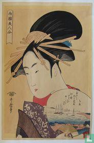 Utamaro - Japanse schone, ca. 1790