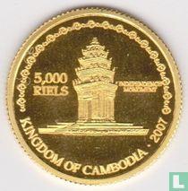 Cambodja 5000 riels 2007
