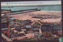 Boulogne-sur-Mer, Vue generale sur la Plage et les Jetees