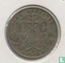Bolivia 10 centavos 1908