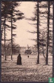 Abbaye Saint-Paul de Wisques - L'Abbaye vue du parc