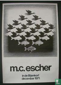 Escher in de Bijenkorf.