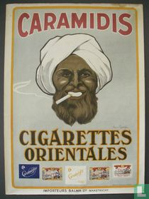 CARAMIDIS, CIGARETTES ORIENTALES