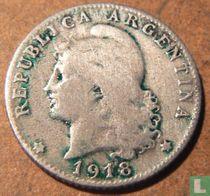 Argentinie 20 centavos 1918
