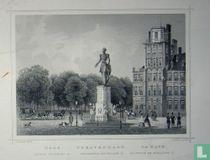's Gravenhage. Standbeeld van Willem II.