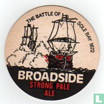 Broadside Strong Pale Ale  The battle of Sole Bay 1672 / Adnams Traditional Ales