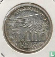 Brasilien 5000 Reis 1937