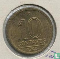 Brasilien 10 Centavo 1943