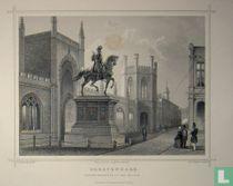 's Gravenhage. Ruiter-Standbeeld van Willem I.