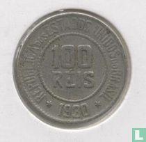 Brasilien 100 Reis 1930