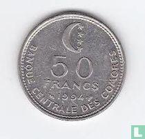 Comoren 50 francs 1994