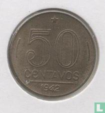 Brasilien 50 Centavos 1942