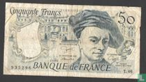 50 francs Quentin of the Tower, 1986