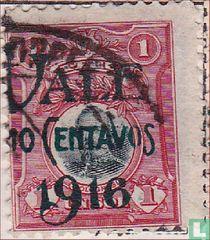 Freimarken 1909 mit Überdruck