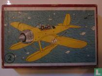 "Kuifje's puzzle karton ""De geheimzinnige ster"""