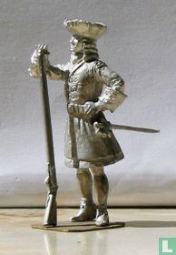 Mousquetaire de la Maison du Roi 1715
