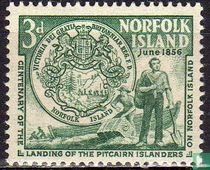 100 Jahre Landung Pitcairn-Insulaner