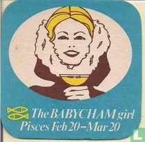 The Babycham girl pisces...