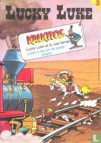 Lucky Luke et la voie ferrée - Lucky Luke en de spoorwegen