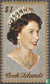 Porträt der Königin Elizabeth II