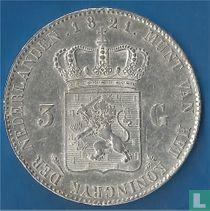 Netherlands 3 guldens 1821