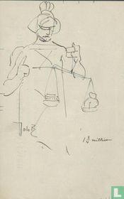 Sketch Lady Justice