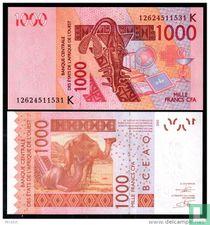 West African States / Senegal - 1000 Francs 2003