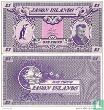 Jason (Falkland) Islands, 1 Pound, 1979
