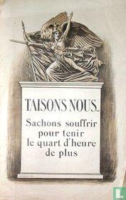 'TAISONS NOUS..'