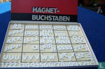 Magneet letters en cijfers