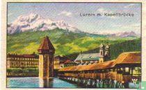 Luzern mit Kapellbrücke