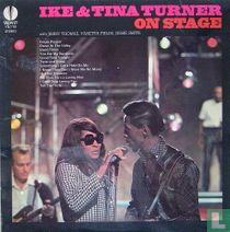 Ike and tina turner on stage