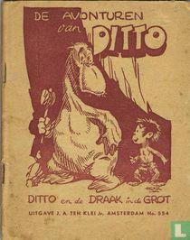 Ditto en de draak in de grot