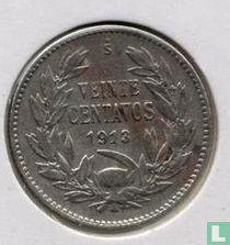 Chili 20 centavos 1913