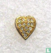 Hart (met 14 steentjes)