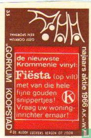 de nieuwste Krommenie vinyl