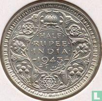 Brits-India ½ rupee 1943 (Bombay)