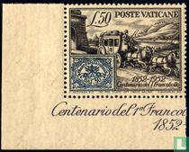 Postzegel Kerkelijke Staat 100 jaar