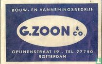 Bouw- en aannemingsbedrijf G. Zoon & co.