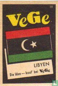 vlag - Libyen