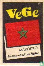 vlag - Marokko