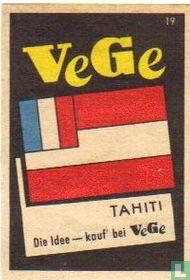 vlag - Tahiti