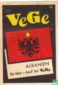 vlag - Albanien