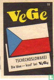 vlag - Tschechoslowakei