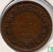 Brits-Indië 1/12 anna 1939 (1e hoofd, Bombay)