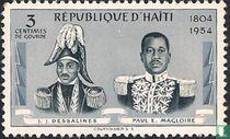 J.J.Dessalines & Paul E. Magloire